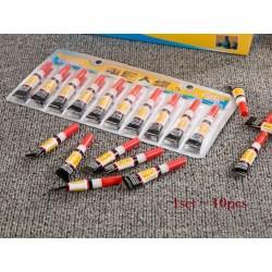 10pcs 502 super glue-10set*