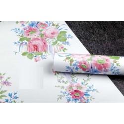 9162 pink rose wallpaper 45cm*10meter