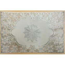 silver colour table mat w30*l45cm