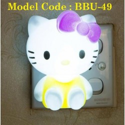 kitty night lamp L7cm*W5cm*H9cm