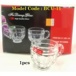 6001 glass cup w8*h7.5cm (minimum beli 6pcs/box)