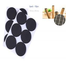 12in1 round felt pads 4.5cm