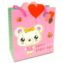 cartoon paper gift bag L14XH15.5CMXW6.5CM