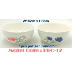 6inch round ceramic bowl W15cm*H8cm