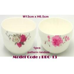5inch ceramic bowl-rose W13cm*H6.5cm