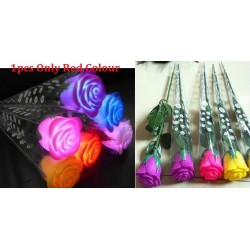 Simulated Rose Lamp 31cm (only red colour)