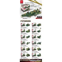 no.dl-k020 war chariot blocks toy