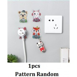 Sticky Animals Socket Hook Storage Rack Holder L6*W5*H2cm
