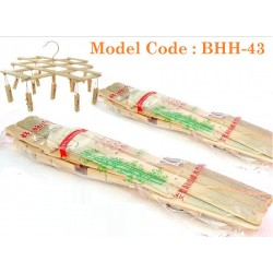 Clothes jacket bamboo puller L34.5cm*W20cm*H12cm