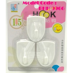 zr-9966 3pcs white hook L5.5cm*W4cm*H3cm