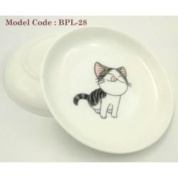 7inch ceramic plate(cat)