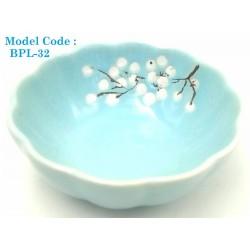 ceramic small plate w9.5*h4cm