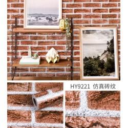9221 Simulated brick pattern wallpaper 45cm*10meter
