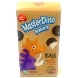 50g black crackers with tiramisu filling flavour