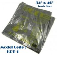 35x40?? 700gm 8black plastic bag*