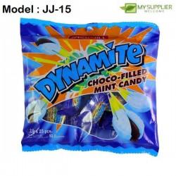 3.3g 25pcs jack'n jil dyn choco-filled mint candy