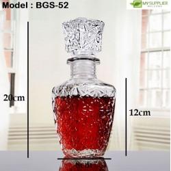 square glass container (L)