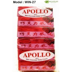 1011bc 12in1 12g apollo milk chocolate wafer cream