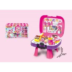 33PCS Plastic Kitchen Cutting Cake Toys Set