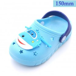 light blue children slipper 150mm