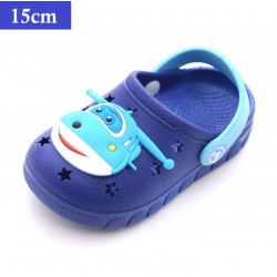dark blue children slipper 150mm