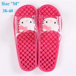 kitty Massage Slippers size m(38-40)
