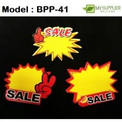 10pcs Sale Promotion Labels +-L20cm*W24cm