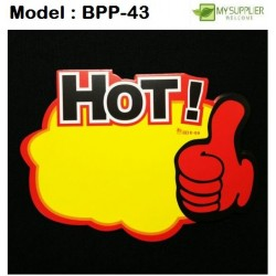 10pcs hot promotion labels w24*l18cm+ -