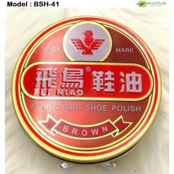 40g shoe polish-brown