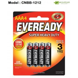 1212 4pcs EVE AAA Super Heavy Duty Battery(Black)