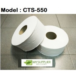1-Ply 550 Jumbo Roll Bathroom Tissue