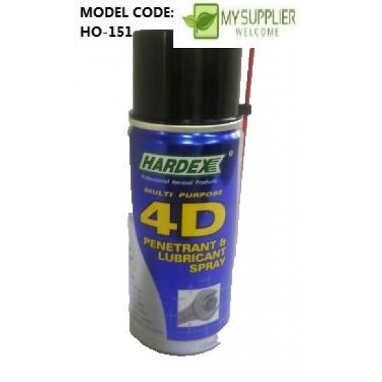 HD-412 120ml 4D penetrant & lubricant spray