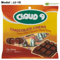 2.5g 25pcs Cloud9 Choc Chews