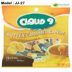 2.5g 25pcs Cloud9 Butter Caramel Candy