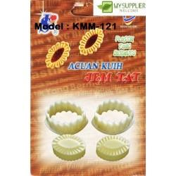 121 plastic tart mould 5.5x3.5cm
