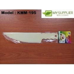 195 plastic cake knife 27x5cm
