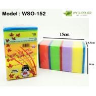 403 4pcs sponge 4*4*9cm