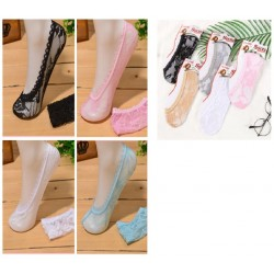 Ladies Soft Lace stocking