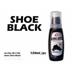1PCS 120ml shoe black*
