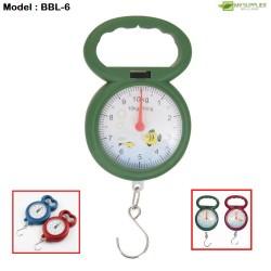 10kg Mini Portable Hanging Scale L10.5*W7*H1cm