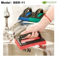 Cleaning Sponge With Handle L15*W9*H2cm