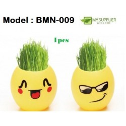 Creative Office Mini Plant Potted Green Grass 5*5cm