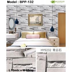 9232 Qingyun Stone Wallpaper W45cm*L10meter