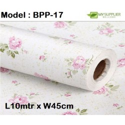 9025 the rose wallpaper 45cm*10meter