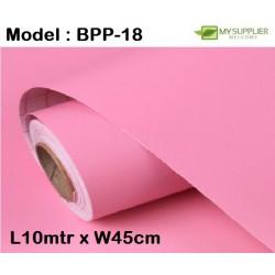 9502 light pink colour wallpaper 45cm*10meter