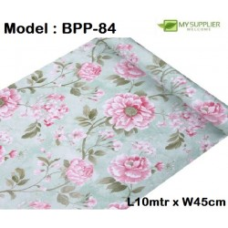 9007 Peony Blossom Wallpaper W45cm*L10meter
