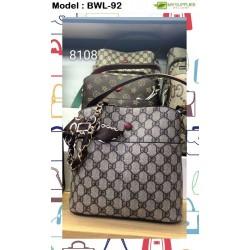 Women Handbag Strap Bucket Bag Sling Bag L22XW22XH12CM(8108)