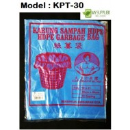 47x55cm+ -30pcs blue plastic bag