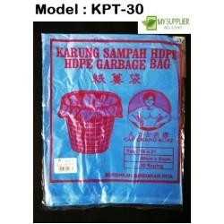 47x55cm+ -30pcs blue plastic bag