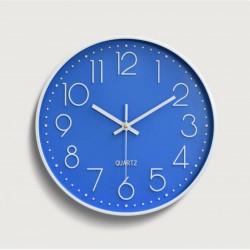 30cm blue round clock
